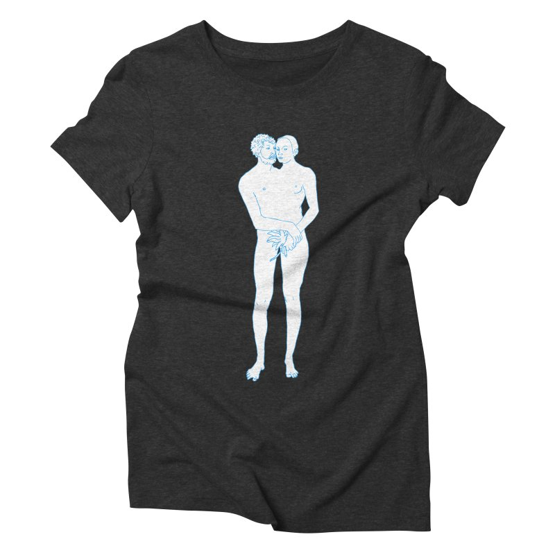 two in one Women's Triblend T-Shirt by mikbulp's Artist Shop