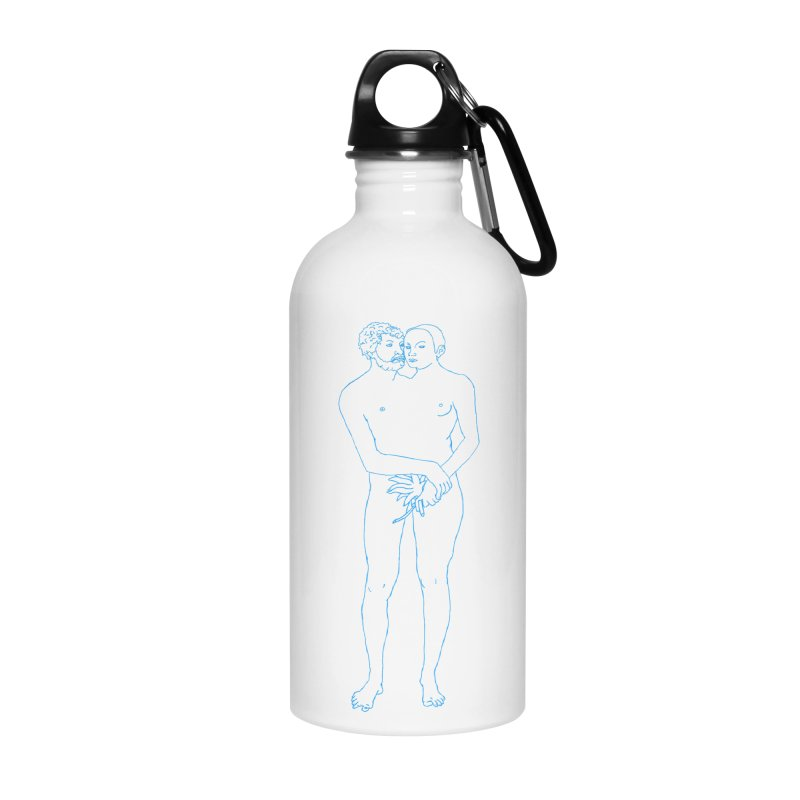 two in one Accessories Water Bottle by mikbulp's Artist Shop