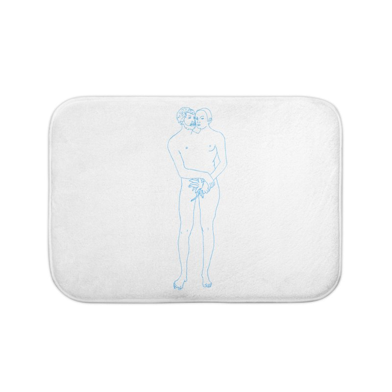 two in one Home Bath Mat by mikbulp's Artist Shop