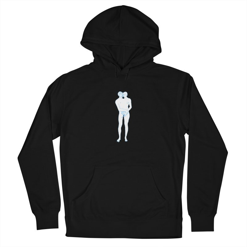 two in one Women's French Terry Pullover Hoody by mikbulp's Artist Shop