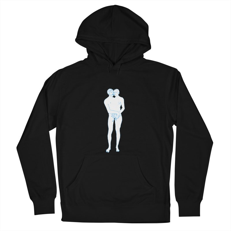 two in one Men's French Terry Pullover Hoody by mikbulp's Artist Shop
