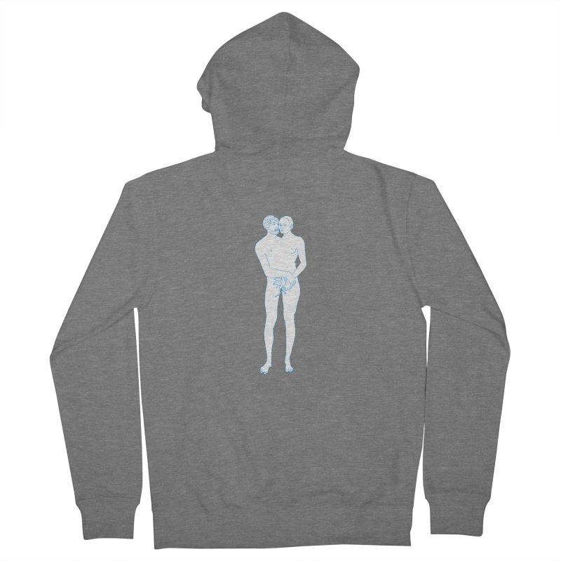 two in one Women's French Terry Zip-Up Hoody by mikbulp's Artist Shop