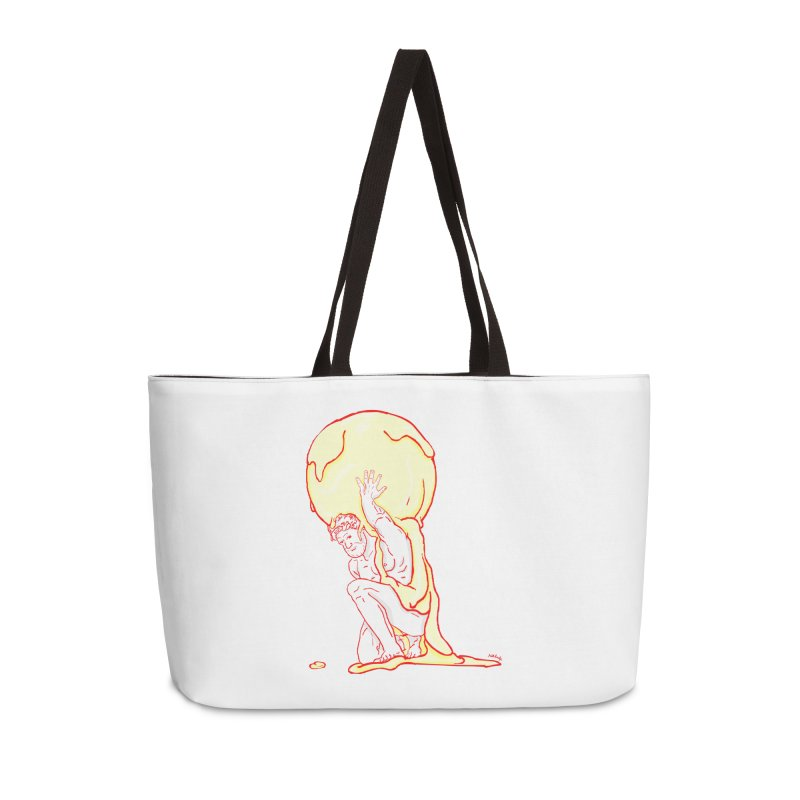 Mr Gelato Accessories Weekender Bag Bag by mikbulp's Artist Shop