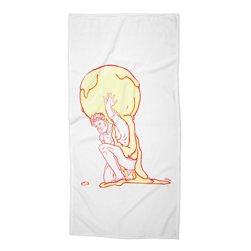 Mr Gelato Accessories Beach Towel by mikbulp's Artist Shop