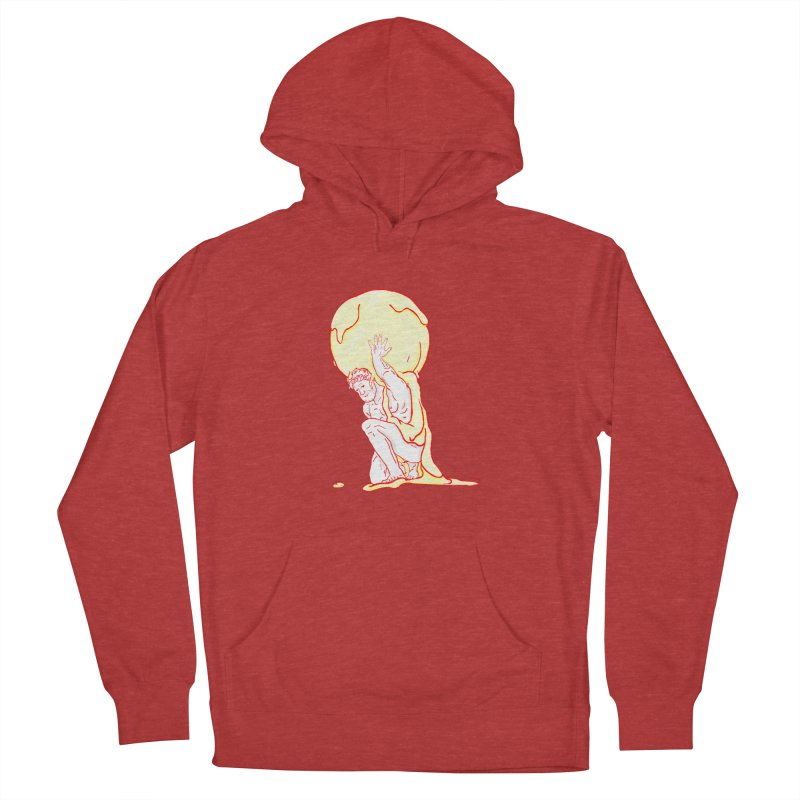 Mr Gelato Men's French Terry Pullover Hoody by mikbulp's Artist Shop