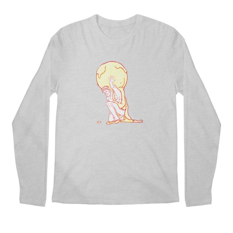 Mr Gelato Men's Longsleeve T-Shirt by mikbulp's Artist Shop