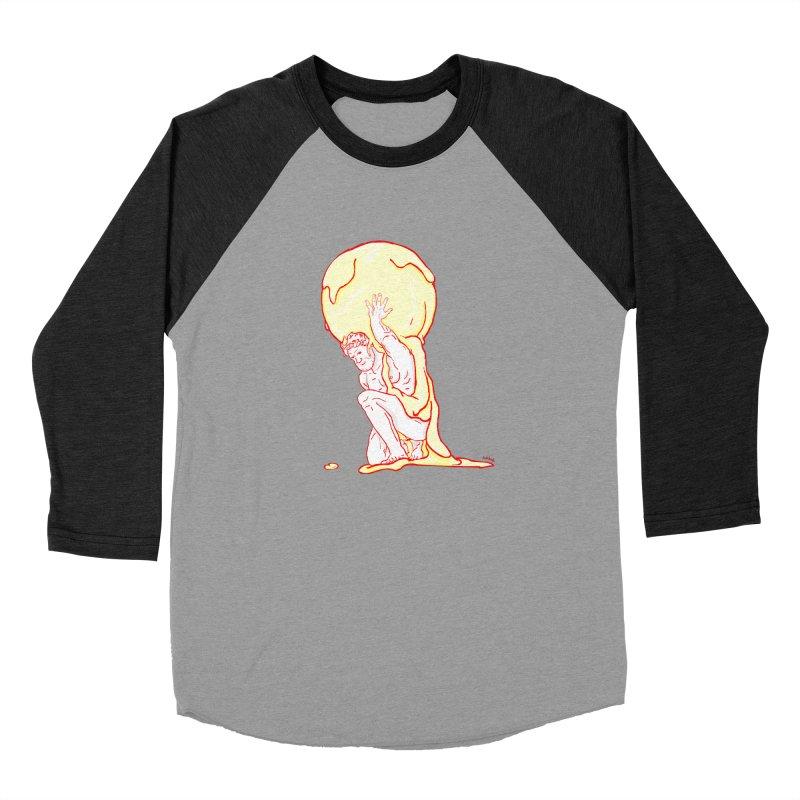Mr Gelato Men's Baseball Triblend Longsleeve T-Shirt by mikbulp's Artist Shop