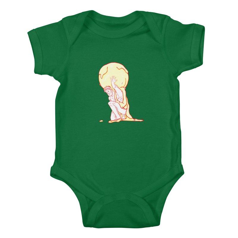 Mr Gelato Kids Baby Bodysuit by mikbulp's Artist Shop