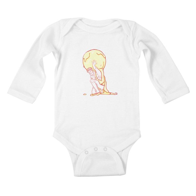 Mr Gelato Kids Baby Longsleeve Bodysuit by mikbulp's Artist Shop