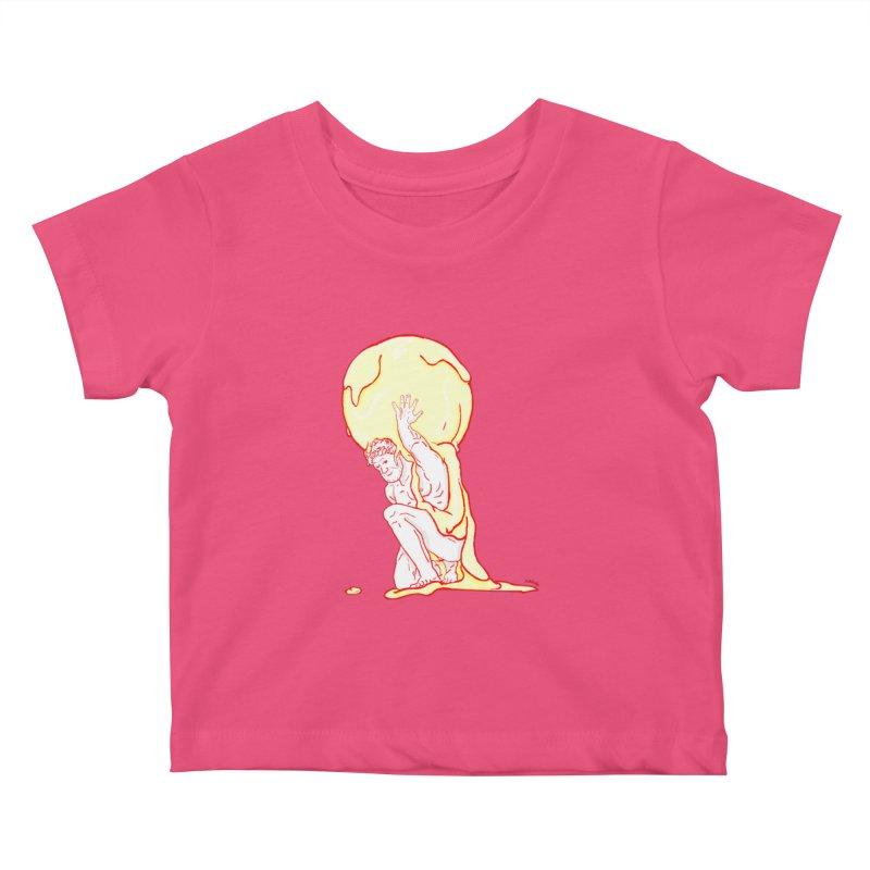 Mr Gelato Kids Baby T-Shirt by mikbulp's Artist Shop