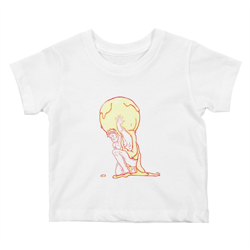 Mr Gelato Kids Baby T-Shirt by mikbulp's Artist Shop
