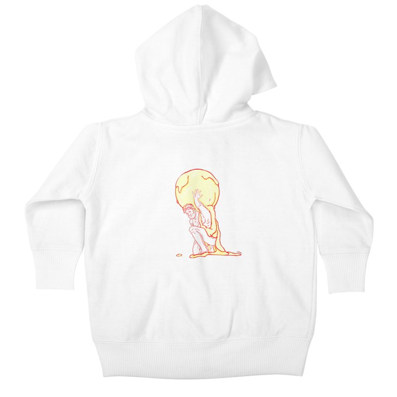 Mr Gelato Kids Baby Zip-Up Hoody by mikbulp's Artist Shop