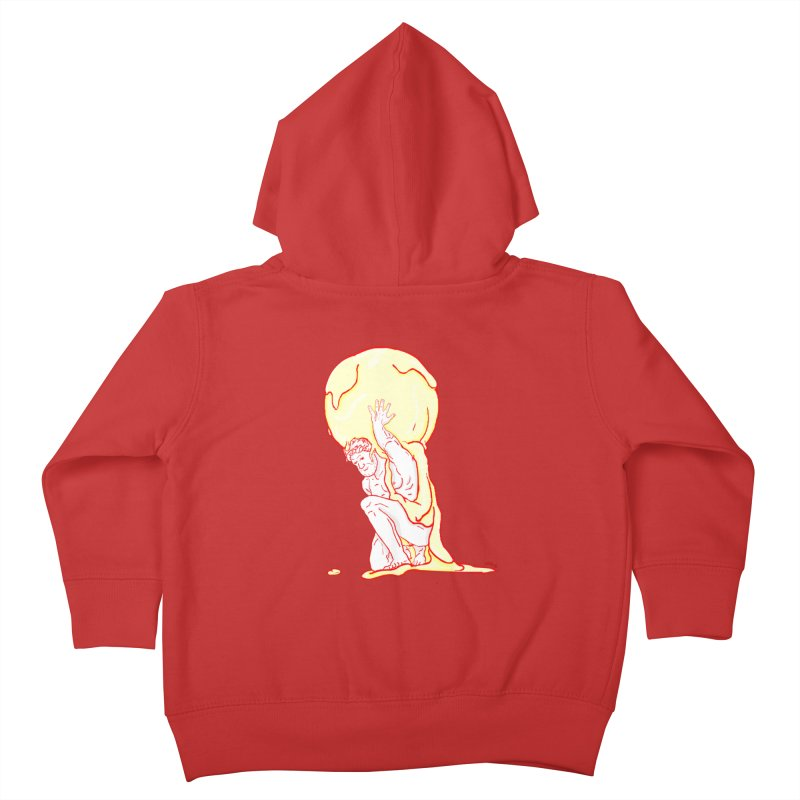 Mr Gelato Kids Toddler Zip-Up Hoody by mikbulp's Artist Shop