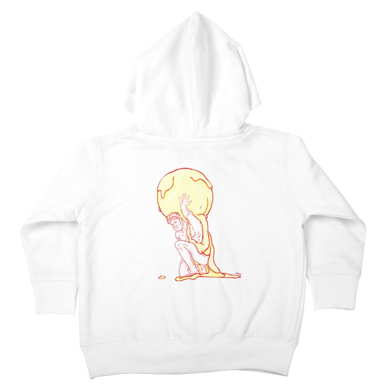 Mr Gelato Kids Toddler Zip-Up Hoody by mikbulp's Artist Shop