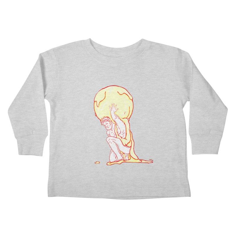 Mr Gelato Kids Toddler Longsleeve T-Shirt by mikbulp's Artist Shop