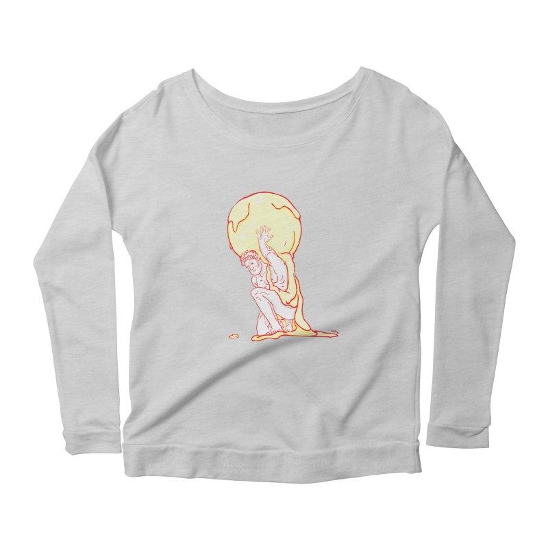 Mr Gelato Women's Scoop Neck Longsleeve T-Shirt by mikbulp's Artist Shop