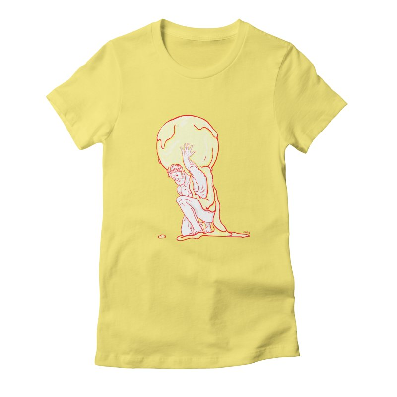 Mr Gelato Women's Fitted T-Shirt by mikbulp's Artist Shop