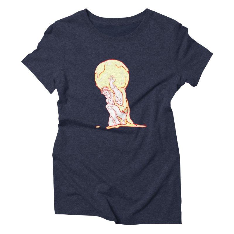 Mr Gelato Women's Triblend T-Shirt by mikbulp's Artist Shop