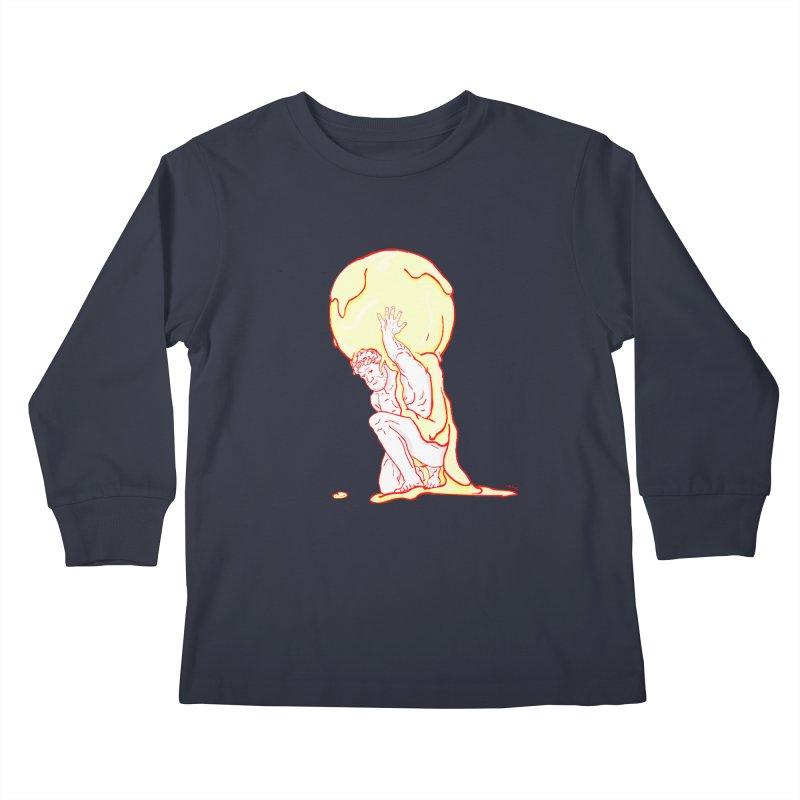 Mr Gelato Kids Longsleeve T-Shirt by mikbulp's Artist Shop