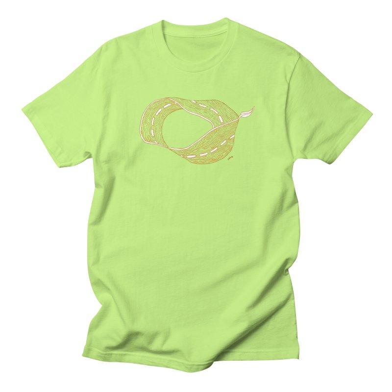 wooden road Women's Unisex T-Shirt by mikbulp's Artist Shop