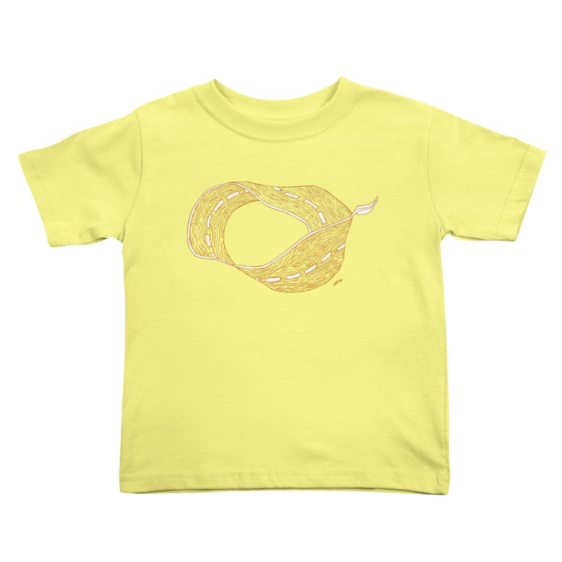 wooden road Kids Toddler T-Shirt by mikbulp's Artist Shop