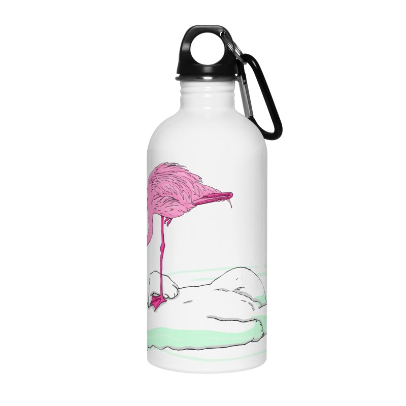 making friends Accessories Water Bottle by mikbulp's Artist Shop