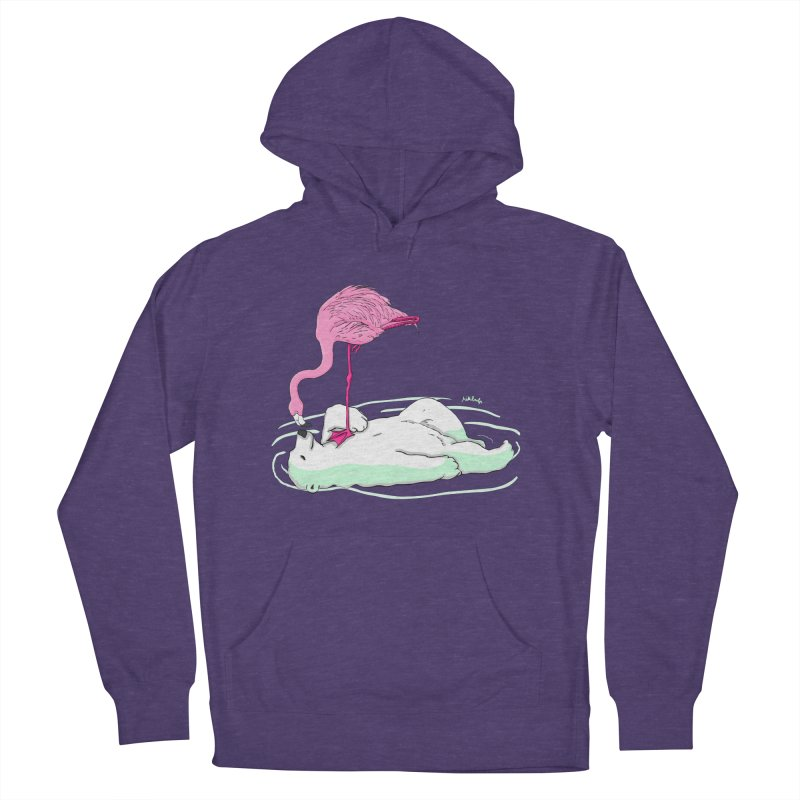 making friends Men's French Terry Pullover Hoody by mikbulp's Artist Shop