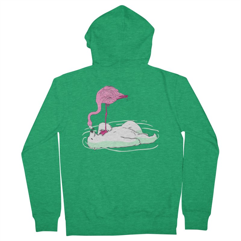 making friends Women's Zip-Up Hoody by mikbulp's Artist Shop