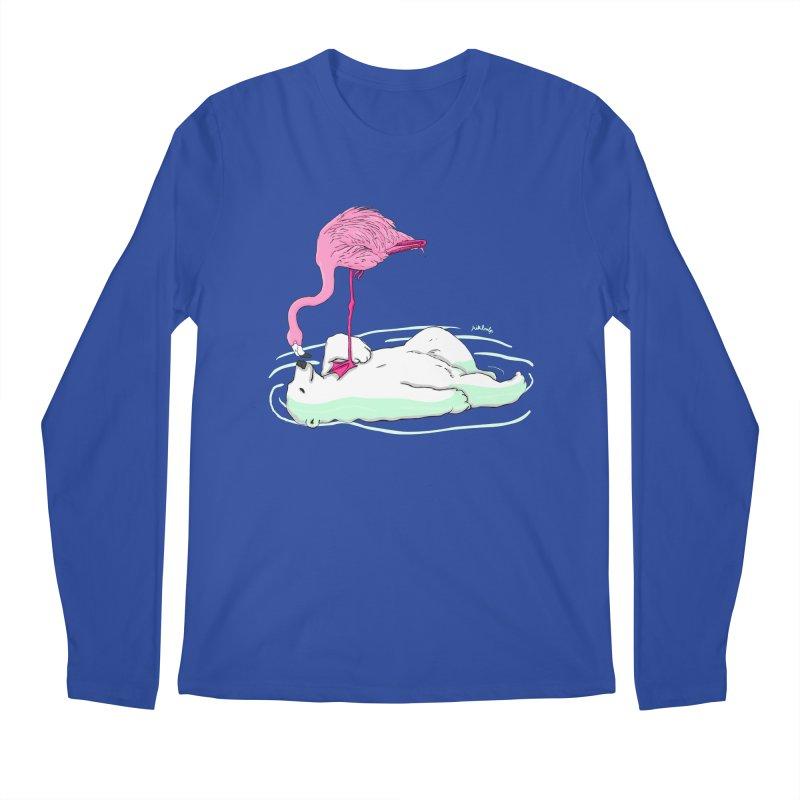 making friends Men's Regular Longsleeve T-Shirt by mikbulp's Artist Shop