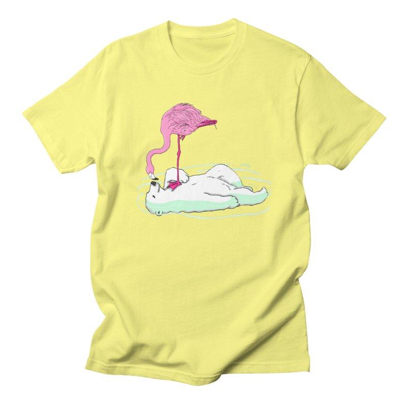 making friends Men's Regular T-Shirt by mikbulp's Artist Shop