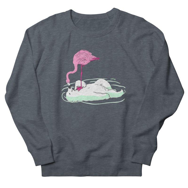 making friends Women's French Terry Sweatshirt by mikbulp's Artist Shop