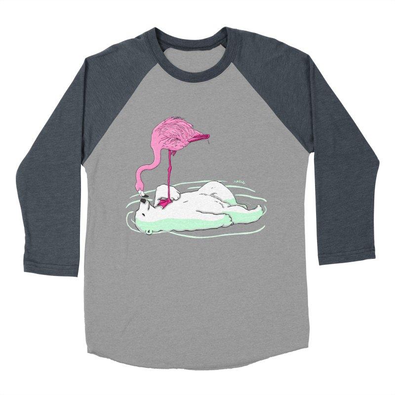 making friends Men's Baseball Triblend T-Shirt by mikbulp's Artist Shop