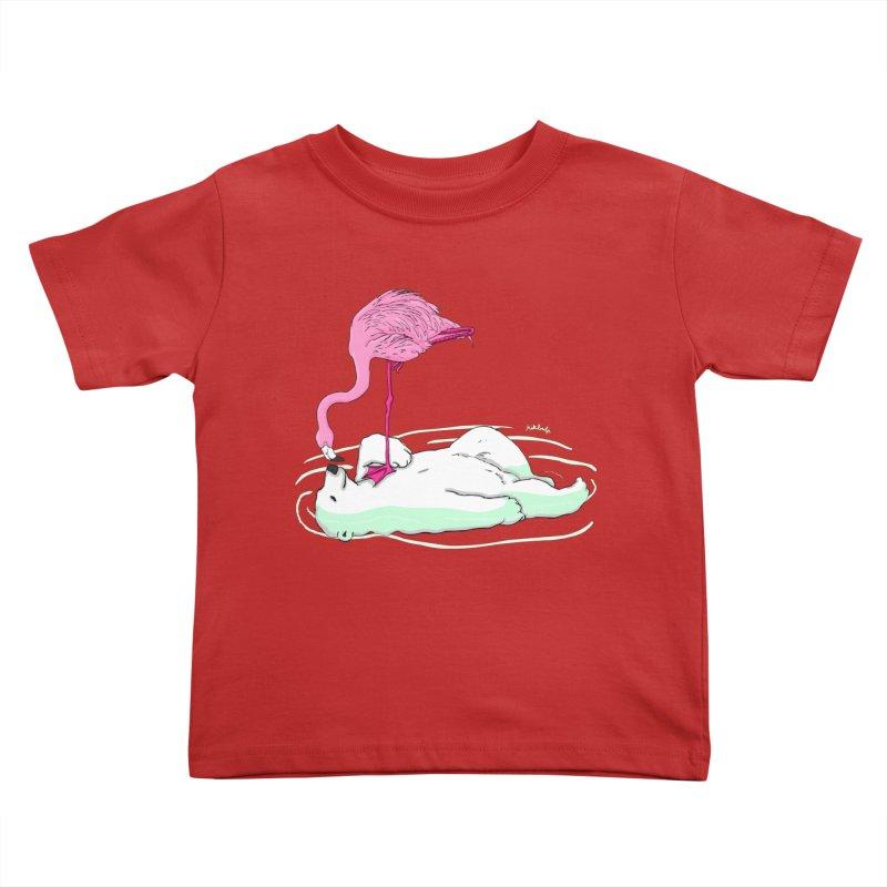 making friends Kids Toddler T-Shirt by mikbulp's Artist Shop