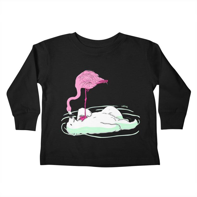 making friends Kids Toddler Longsleeve T-Shirt by mikbulp's Artist Shop