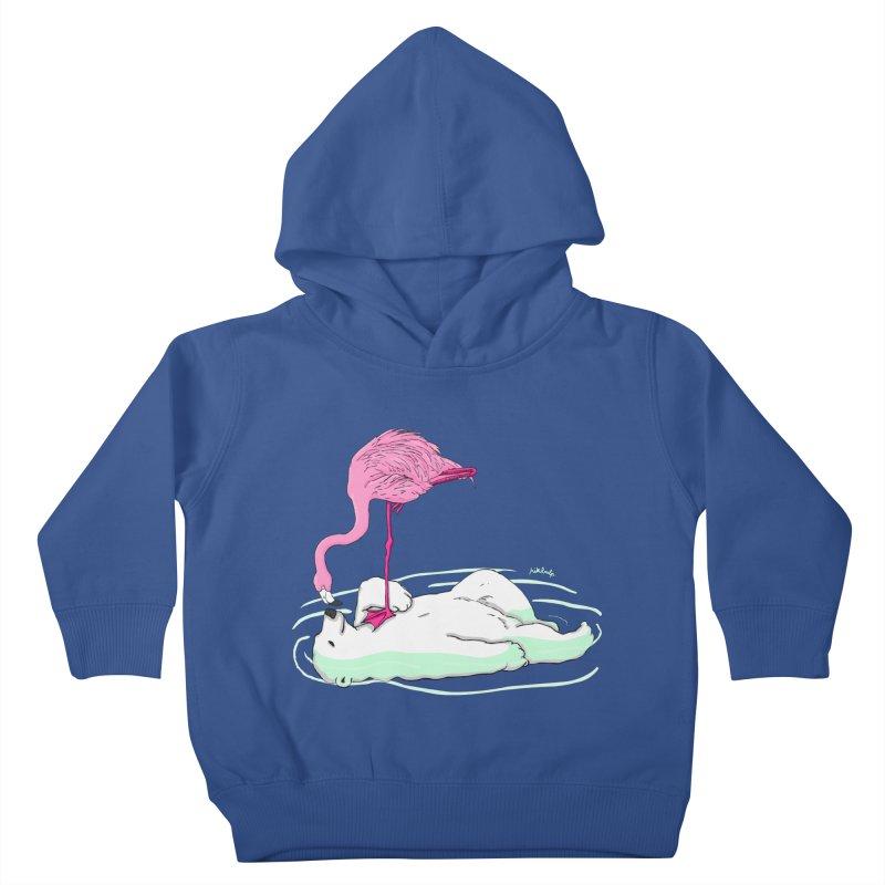 making friends Kids Toddler Pullover Hoody by mikbulp's Artist Shop