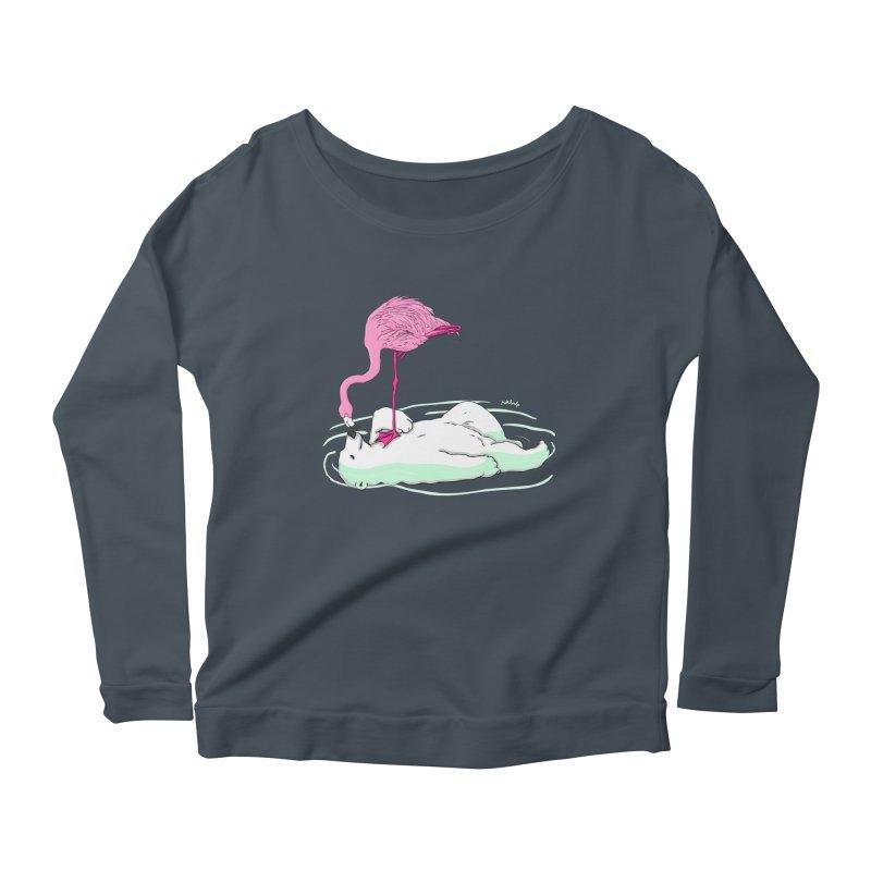 making friends Women's Scoop Neck Longsleeve T-Shirt by mikbulp's Artist Shop