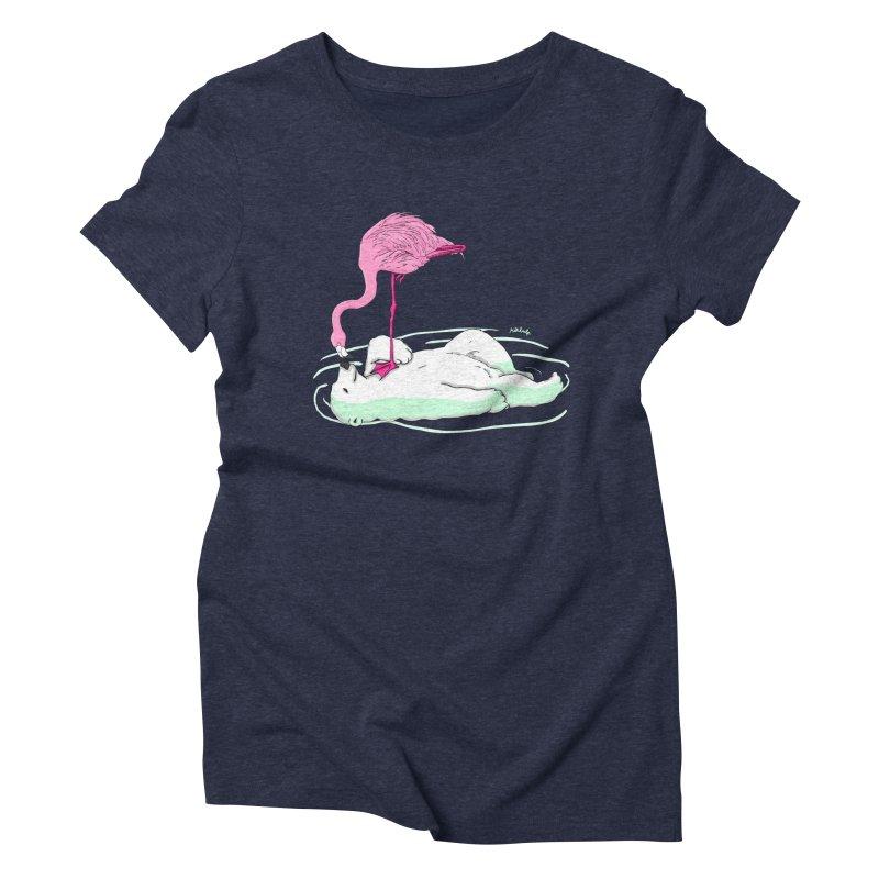 making friends Women's Triblend T-Shirt by mikbulp's Artist Shop