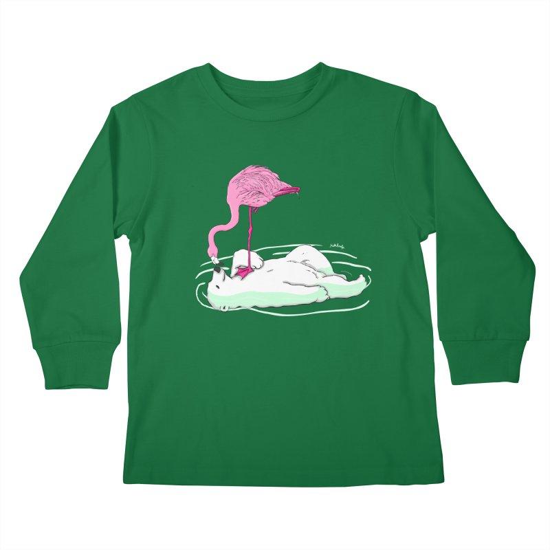 making friends Kids Longsleeve T-Shirt by mikbulp's Artist Shop
