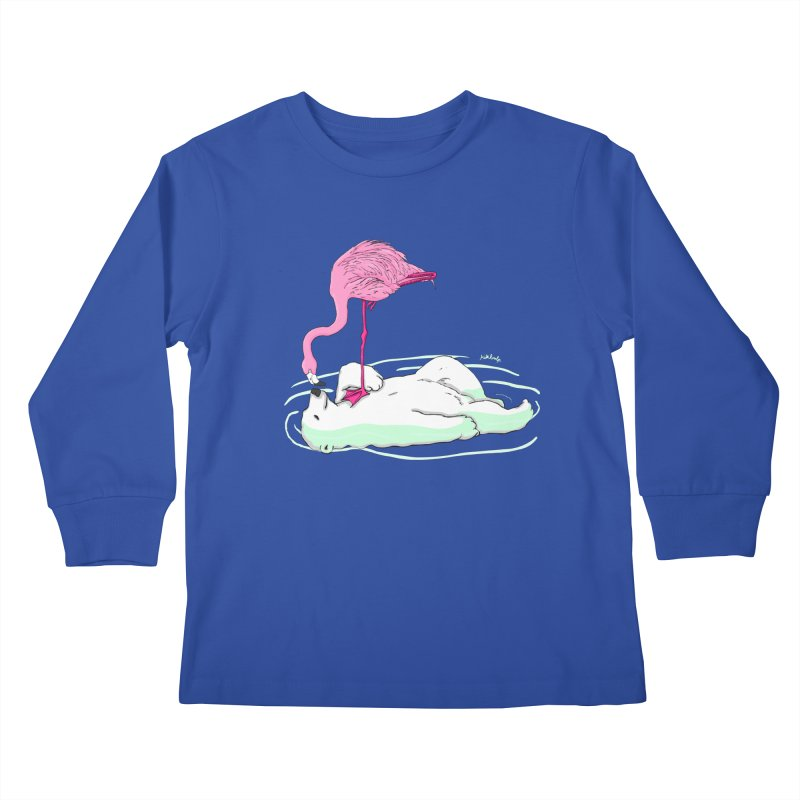 making friends Kids Longsleeve T-Shirt by mikbulp's Artist Shop