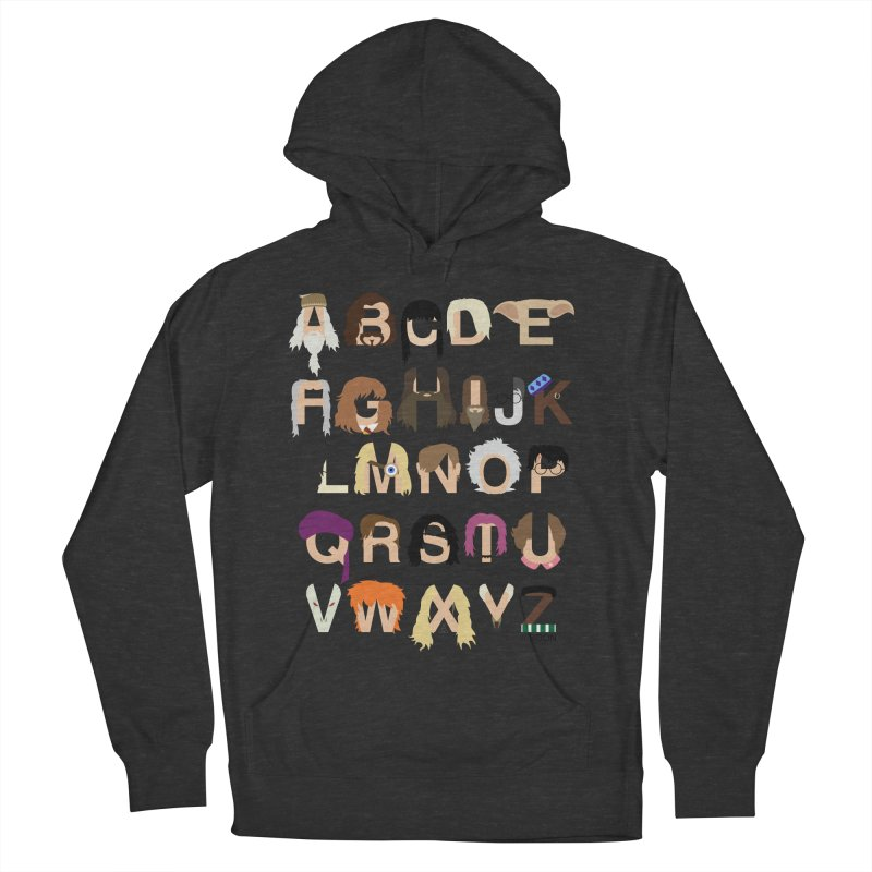 Harry Potter Alphabet Men's Pullover Hoody by Mike Baboon Design