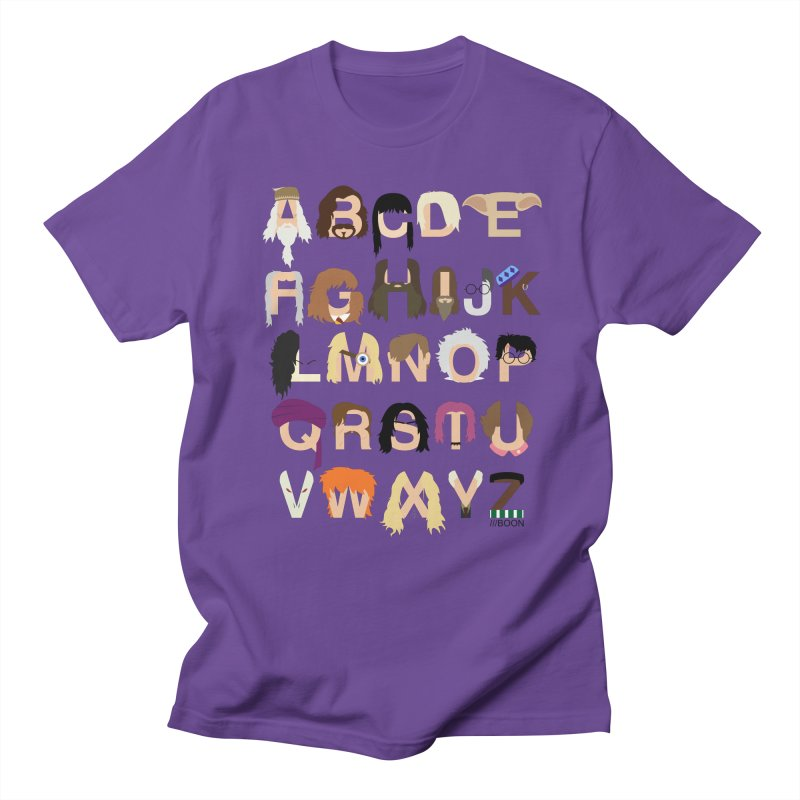 Harry Potter Alphabet Men's T-Shirt by Mike Baboon Design