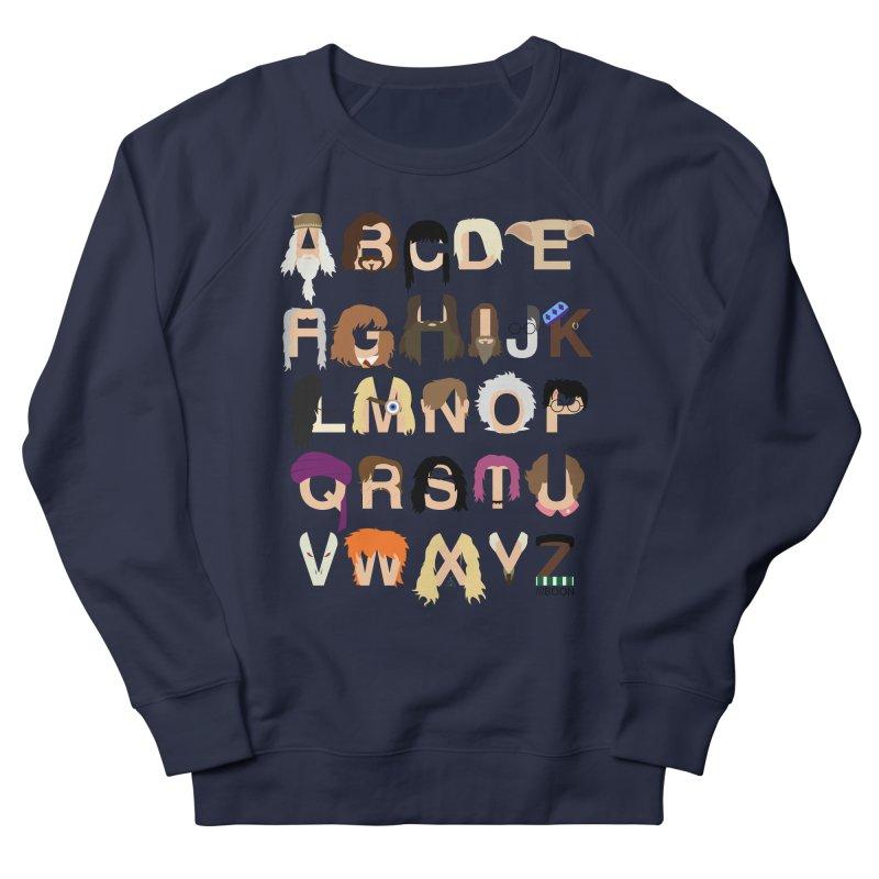Harry Potter Alphabet Women's Sweatshirt by Mike Baboon Design