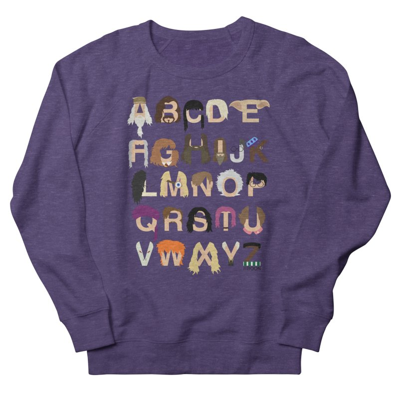 Harry Potter Alphabet Men's Sweatshirt by Mike Baboon Design