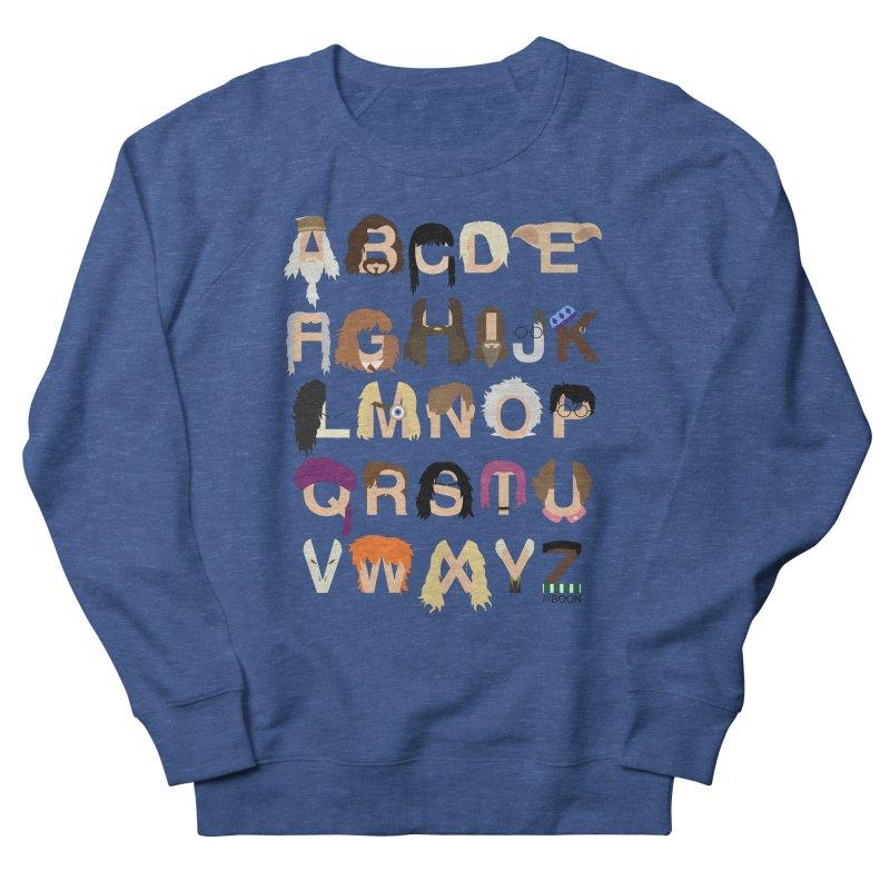 Harry Potter Alphabet Men's Sweatshirt by Mike Baboon Design