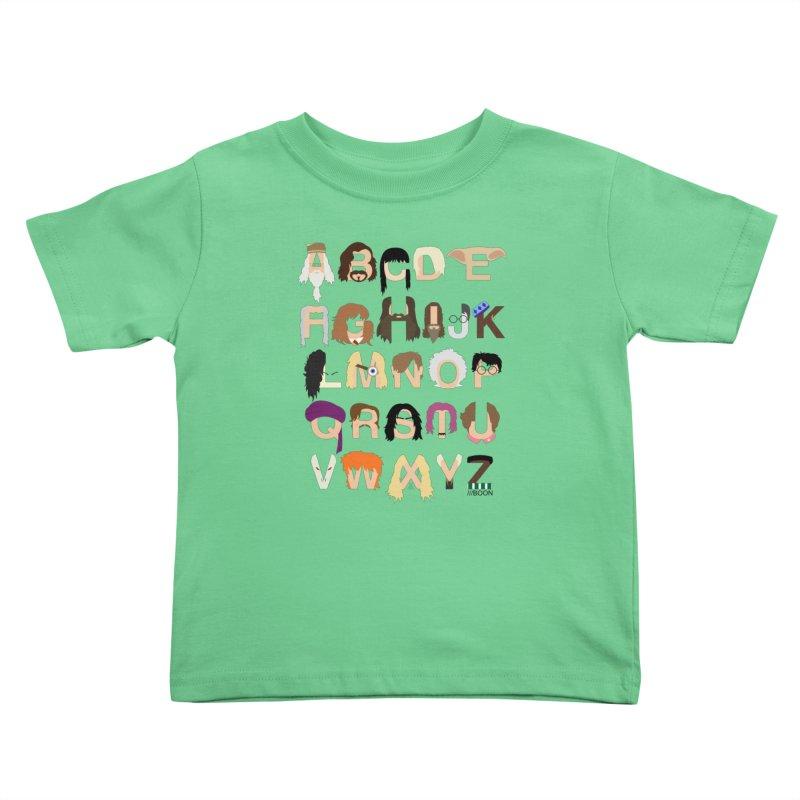 Harry Potter Alphabet Kids Toddler T-Shirt by Mike Baboon Design