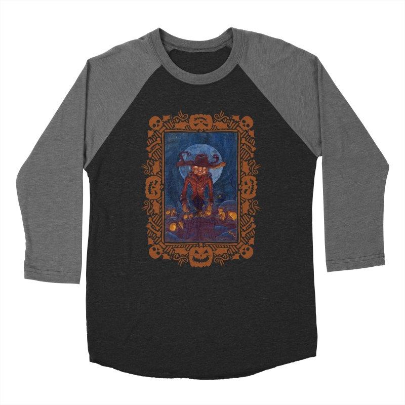 La Calabaza Men's Baseball Triblend T-Shirt by Mike Bilz's Artist Shop