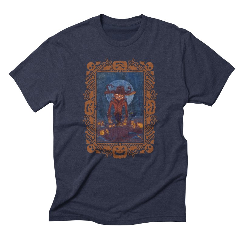 La Calabaza Men's Triblend T-shirt by Mike Bilz's Artist Shop