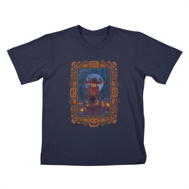 La Calabaza Kids T-shirt by Mike Bilz's Artist Shop