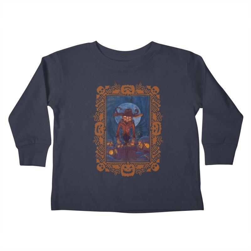 La Calabaza Kids Toddler Longsleeve T-Shirt by Mike Bilz's Artist Shop