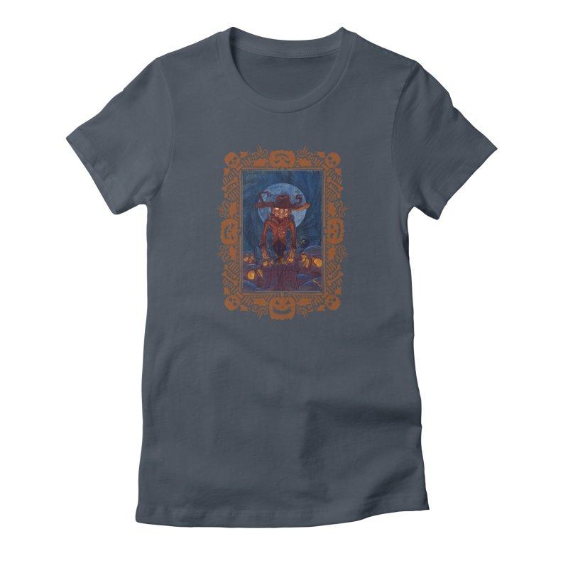 La Calabaza Women's T-Shirt by Mike Bilz's Artist Shop